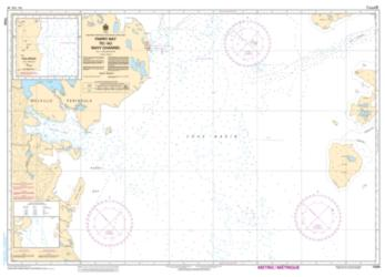 Buy map Parry Bay to/au Navy Channel by Canadian Hydrographic Service from Canada Maps Store