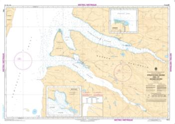 Buy map Strathcona Sound and/et Adams Sound by Canadian Hydrographic Service from Canada Maps Store