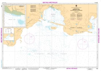Buy map Bridport Inlet and Approaches/et les Approches by Canadian Hydrographic Service from Canada Maps Store