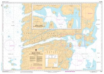 Buy map Bellot Strait and Approaches/et les Approches by Canadian Hydrographic Service from Canada Maps Store