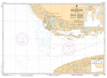 Buy map Prince Albert Sound, Western Portion/Partie Ouest by Canadian Hydrographic Service from Canada Maps Store