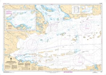 Buy map Coronation Gulf Western Portion/Partie Ouest by Canadian Hydrographic Service from Canada Maps Store