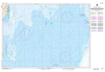 Buy map Grand Bank, Northern Portion/Grand Banc, Partie Nord by Canadian Hydrographic Service from Canada Maps Store