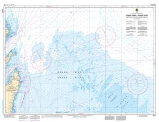 Buy map Grand Banc/Grand Bank (Northeast Portion/Partie-Nord-Est) by Canadian Hydrographic Service from Canada Maps Store