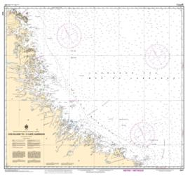 Buy map Cod Island to/a Cape Harrison by Canadian Hydrographic Service from Canada Maps Store