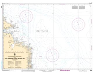 Buy map Cape Harrison to/a St. Michael Bay by Canadian Hydrographic Service from Canada Maps Store