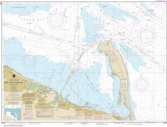 Buy map New York Lower Bay Nautical Chart (12401) by NOAA from New York Maps Store