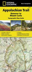 Buy map Appalachian Trail Topographic Map Guide, Hanover to Mount Carlo by National Geographic Maps from Maine Maps Store