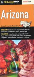 Buy map Arizona State Fold Map by Kappa Map Group from Arizona Maps Store
