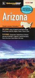 Buy map Arizona State Waterproof Map by Kappa Map Group
