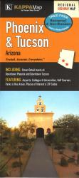 Buy map Phoenix and Tucson, AZ Waterproof Map by Kappa Map Group