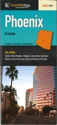 Buy map Phoenix, AZ Fold Map by Kappa Map Group from Arizona Maps Store