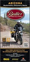 Buy map Arizona Backcountry Discovery Route by Butler Motorcycle Maps from Arizona Maps Store