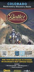 Buy map Colorado Backcountry Discovery Route by Butler Motorcycle Maps from Colorado Maps Store