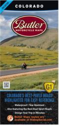 Buy map Colorado G1 Map by Butler Motorcycle Maps from Colorado Maps Store