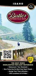Buy map Idaho G1 Map by Butler Motorcycle Maps from Idaho Maps Store