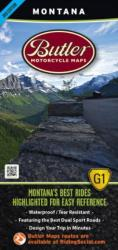 Buy map Montana G1 Map by Butler Motorcycle Maps in Montana Map Store