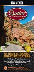 Buy map New Mexico G1 Map by Butler Motorcycle Maps from New Mexico Maps Store