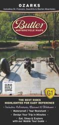 Buy map Ozarks by Butler Motorcycle Maps from Missouri Maps Store