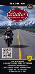 Buy map Wyoming G1 Map by Butler Motorcycle Maps from Wyoming Maps Store