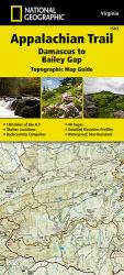 Buy map Appalachian Trail Map Guide, Damascus to Bailey Gap by National Geographic Maps from Virginia Maps Store
