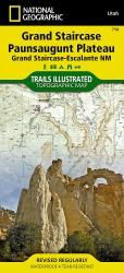 Buy map Grand Staircase, Paunsaugunt Plateau, Map 714 by National Geographic Maps from Utah Maps Store