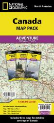 Buy map Canada, Map Pack Bundle by National Geographic Maps from Map Store
