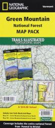 Buy map Green Mountains National Forest, Map Pack Bundle by National Geographic Maps from Vermont Maps Store