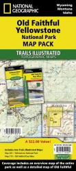 Buy map Old Faithful Day Hikes Map Pack Bundle by National Geographic Maps from Wyoming Maps Store
