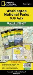 Buy map Washington National Parks Map Pack Bundle by National Geographic Maps from Washington Maps Store