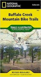 Buy map Buffalo Creek Mountain Bike Trails, Colorado, Map 503 by National Geographic Maps from Colorado Maps Store
