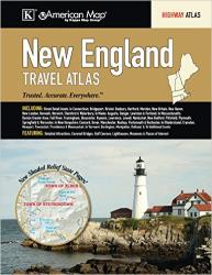 Buy map New England, Road Atlas by Kappa Map Group from United States Maps Store