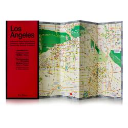 Buy map Los Angeles, California by Red Maps from California Maps Store