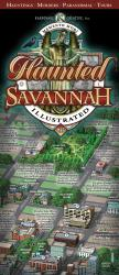 Buy map Savannah, Georgia, Haunted Map by Karpovage Creative, Inc. from Georgia Maps Store