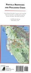 Buy map Portola Redwoods and Pescadero Creek by Redwood Hikes Press from California Maps Store