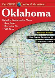 Buy map Oklahoma, Atlas and Gazetteer by DeLorme from Oklahoma Maps Store