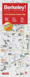 Buy map Berkeley, California Campus Area by Rufus Graphics from California Maps Store