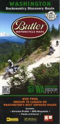 Buy map Washington BDR Map by Butler Motorcycle Maps from Washington Maps Store