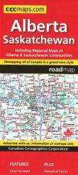 Buy map Alberta and Saskatchewan Road Map by Canadian Cartographics Corporation from Canada Maps Store