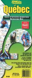 Buy map Quebec Recreation Map by Canadian Cartographics Corporation, MapArt Publishing, JDM G?�o Inc. from Quebec Maps Store