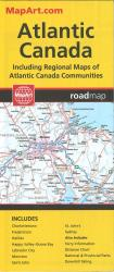 Buy map Atlantic Canada, Road Map by Canadian Cartographics Corporation from Canada Maps Store