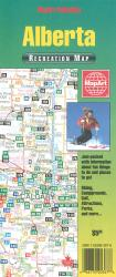 Buy map Alberta Recreation Map by Canadian Cartographics Corporation, MapArt Corporation, Peter Heiler Ltd. from Alberta Maps Store