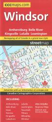 Buy map Windsor Ontario, Street Map by Canadian Cartographics Corporation from Ontario Maps Store