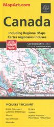 Buy map Canada Road Map by Canadian Cartographics Corporation from Canada Maps Store