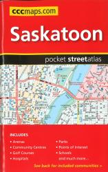 Buy map Saskatoon SK, Pocket Street Atlas by Canadian Cartographics Corporation from British Columbia Maps Store