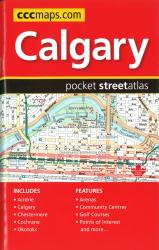 Buy map Calgary AB, Pocket Street Atlas by Canadian Cartographics Corporation from British Columbia Maps Store