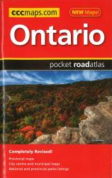Buy map Ontario Pocket Road Atlas by Canadian Cartographics Corporation from British Columbia Maps Store