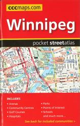 Buy map Winnipeg MB, Pocket Road Atlas by Canadian Cartographics Corporation from Manitoba Maps Store