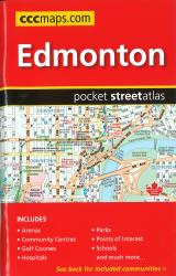 Buy map Edmonton AB, Pocket Street Atlas by Canadian Cartographics Corporation