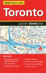 Buy map Toronto, Pocket Street Atlas by Canadian Cartographics Corporation from Ontario Maps Store